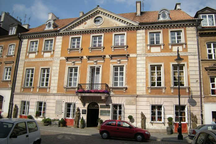 Varsavia Casa Marie Curie