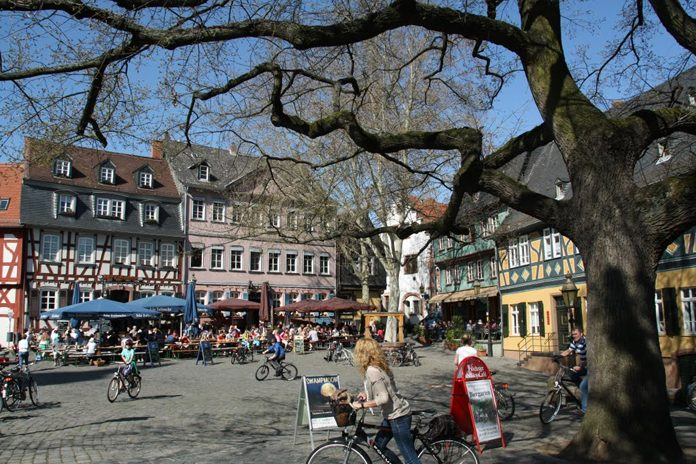 Francoforte Quartiere Höchst