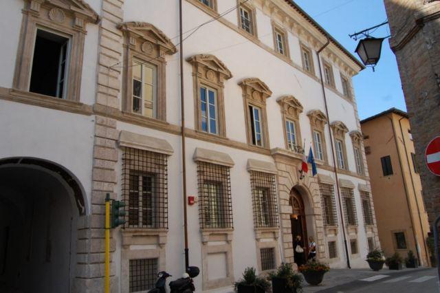 Spoleto Palazzo Mauri Biblioteca