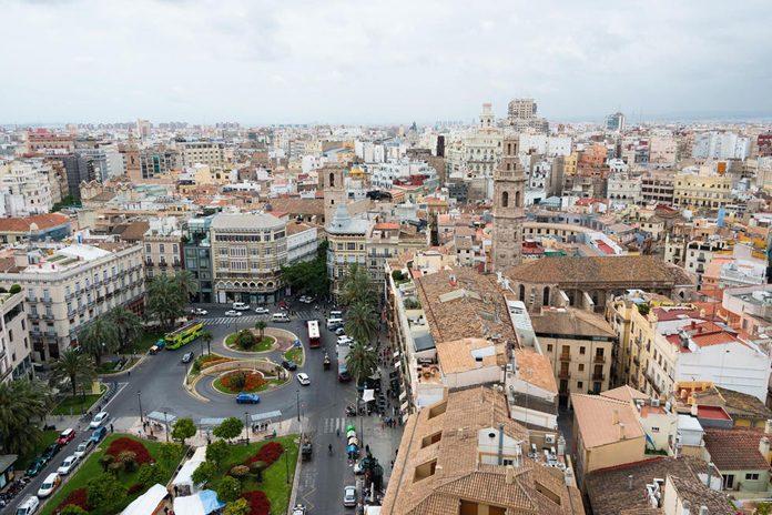 Valencia Vista dalla Torre del Miguelete