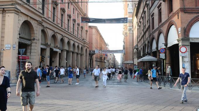 Bologna Via dell'Indipendenza