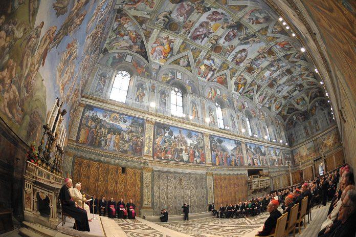 Roma Vaticano Cappella Sistina