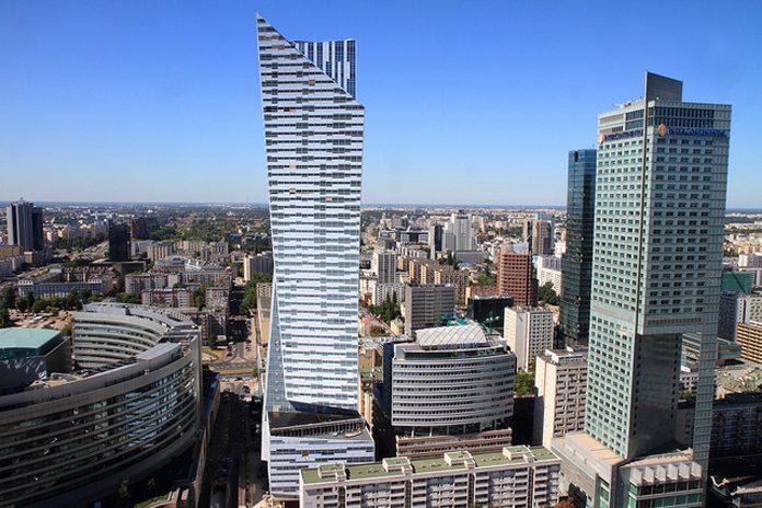 Varsavia quartiere finanziario