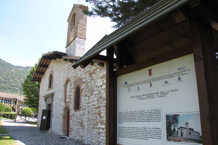 Gubbio Chiesa della Vittorina