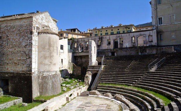 Spoleto Teatro Romano