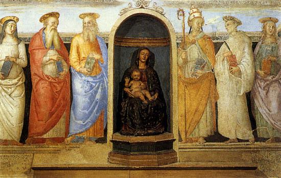 Perugia Cappella San Severo Trinità
