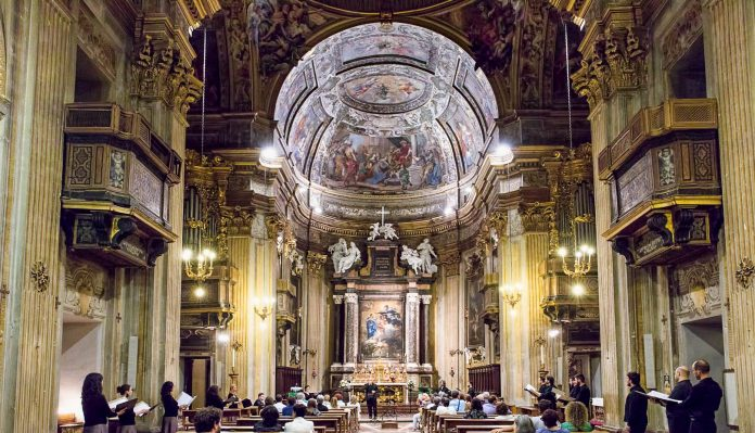 Perugia Chiesa San Filippo Neri