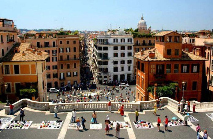 Roma Trinità dei Monti