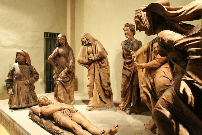 Bologna Compianto Cristo Morto
