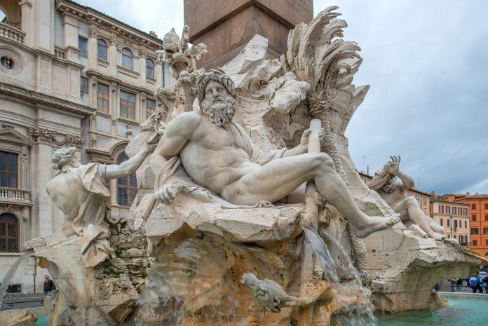 Roma Fontana dei Quattro Fiumi