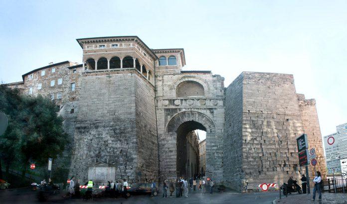 Perugia Arco di Augusto