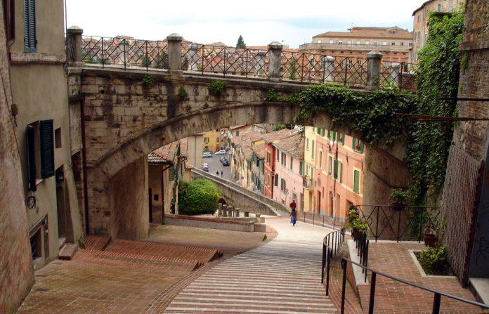 Perugia Via dell'Acquedotto