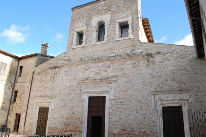 Spoleto Chiesa di San Salvatore