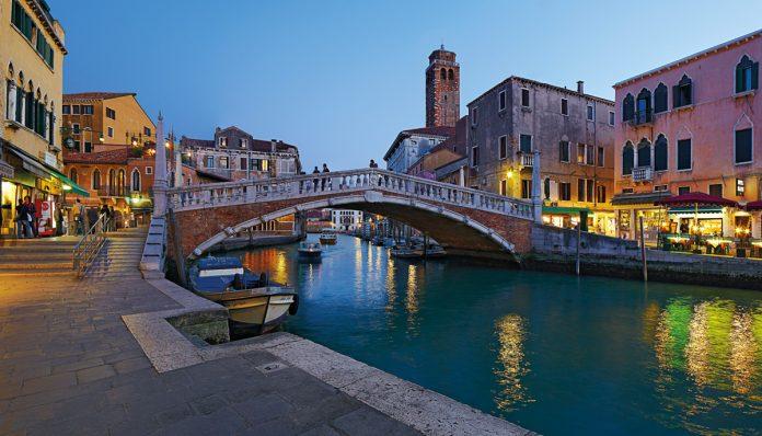 Venezia Cannaregio Ponte delle Guglie