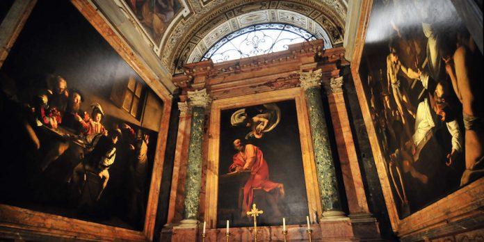 Roma San Luigi dei Francesi Caravaggio