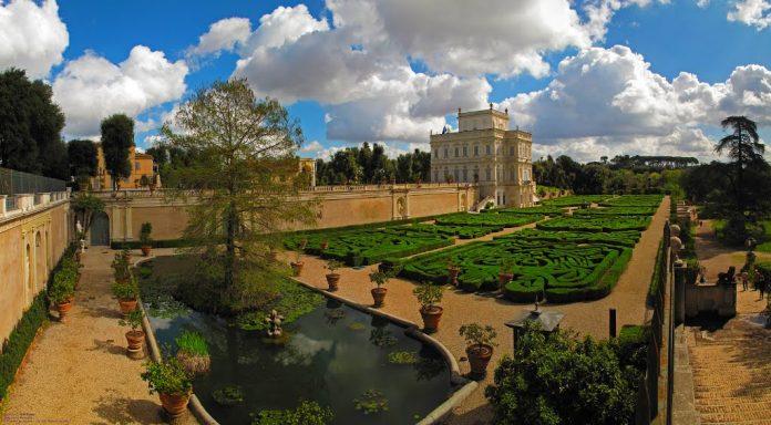 Roma Villa Doria Pamphilj