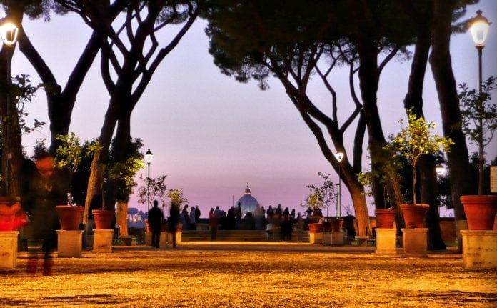 Roma Giardino degli Aranci