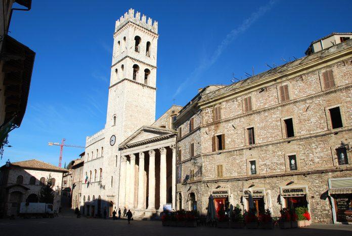 Assisi Torre Civica e Palazzo Capitano del Popolo