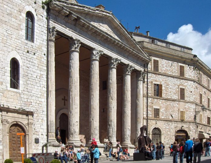 Assisi Santa Maria sopra Minerva