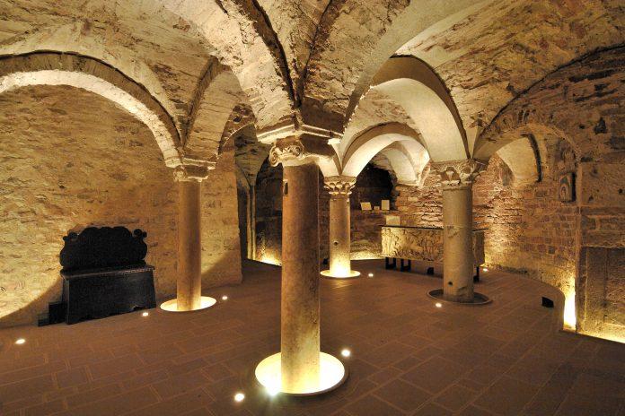 Assisi Cripta San Rufino