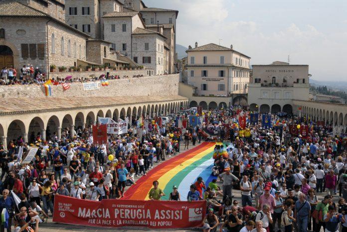 Perugia Assisi Marcia della Pace