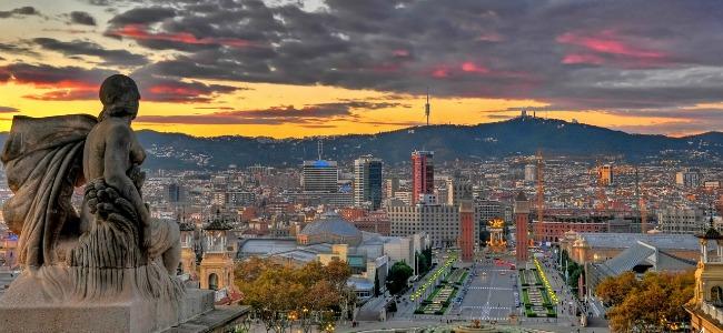 Barcellona veduta