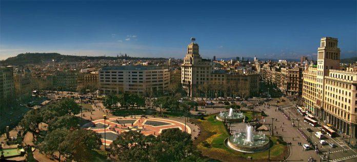 Barcellona Plaça de Catalunya