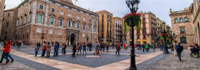 Barcellona Plaça Sant Juame