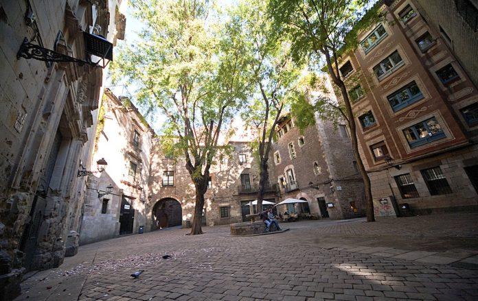 Barcellona Piazza Sant Felip Neri