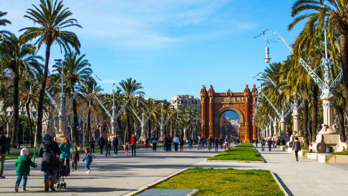 Barcellona Arco di Trionfo