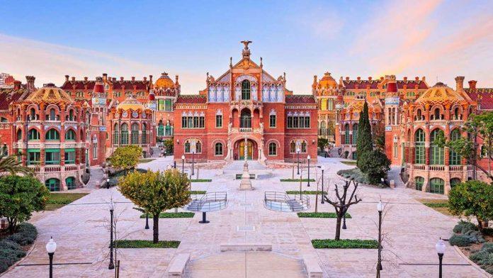 Barcellona Ospedale Santa Croce