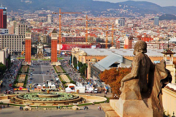 Barcellona Plaça d'Espanya