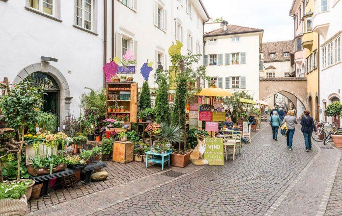 Bolzano Via Dr Streiter - Via Francescani