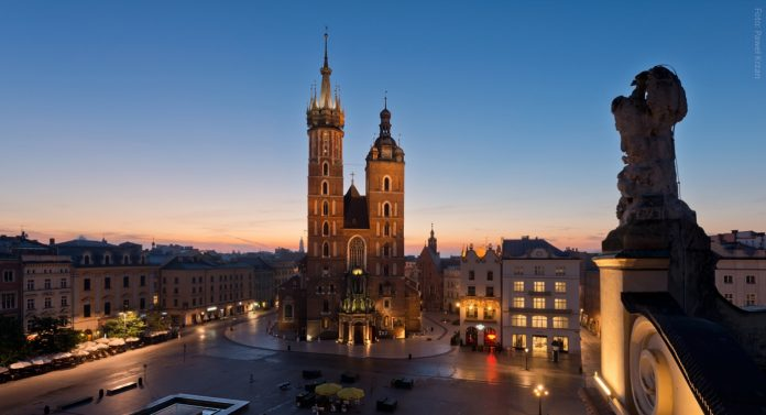 Cracovia Basilica di Santa Maria