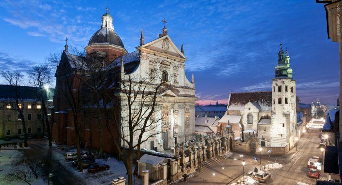 Cracovia La Chiesa dei Santi Pietro e Paolo