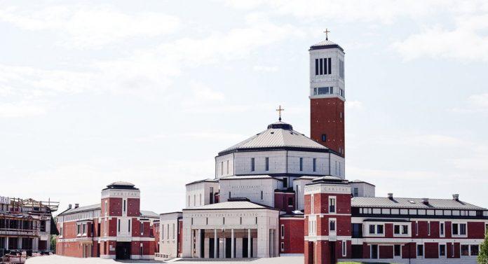 Cracovia Santuario di Giovanni Paolo II