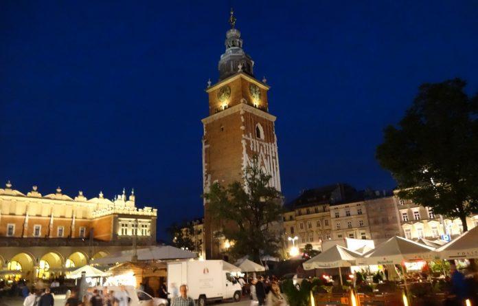 Cracovia Torre Ratuszowa