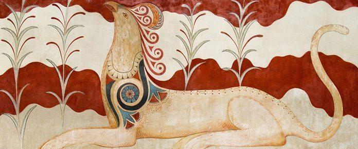 Creta Cnosso Affresco