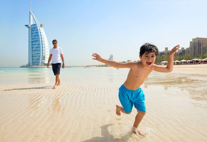 Dubai Madinat Jumeirah (private beach - children activity)
