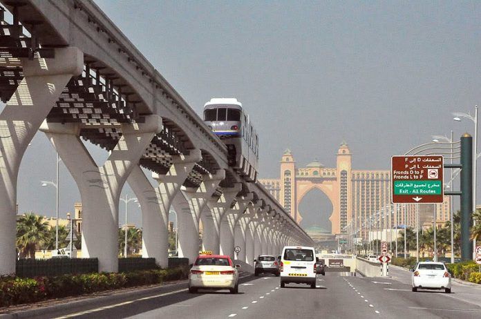 Dubai Palm Monorail