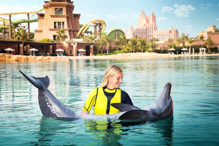 Dubai Atlantis Delfinarium