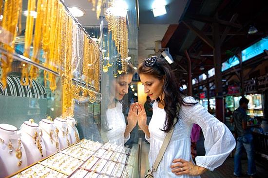 Dubai Gold Souk - Oro