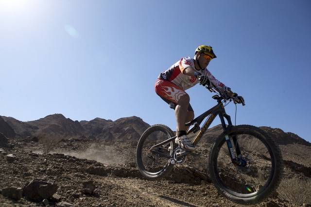 Dubai Mtb on Hatta Trail