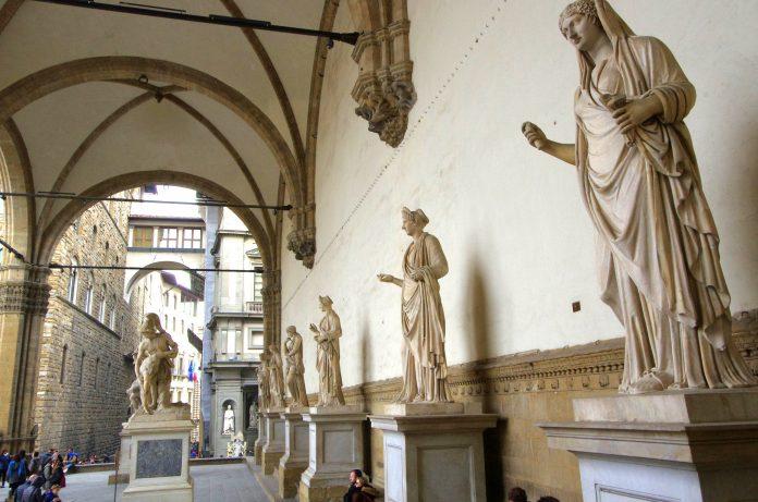 Firenze Loggia dei Lanzi