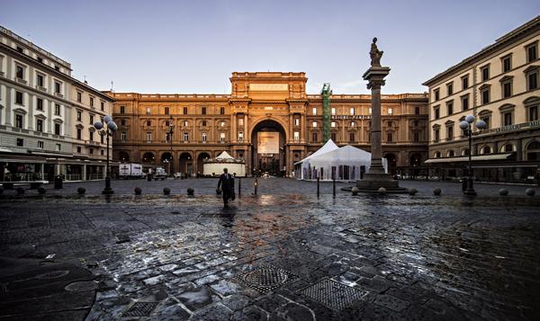 Firenze Piazza della Repubblica