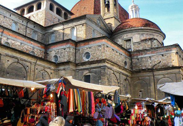 Firenze Mercato di San Lorenzo