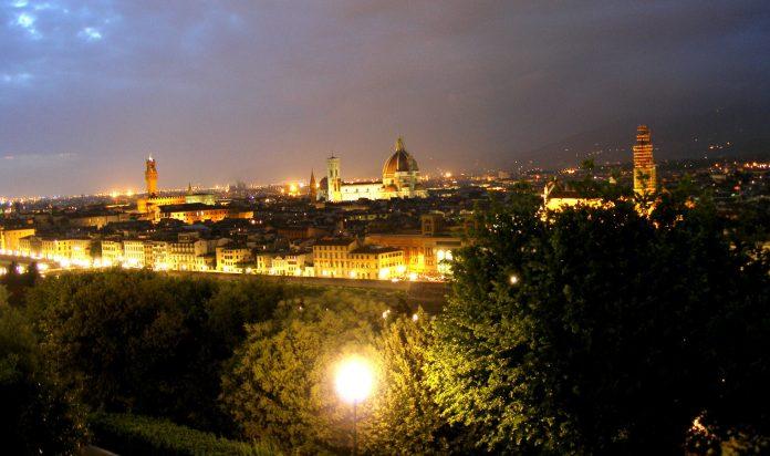 Firenze veduta da Piazzale Michelangelo