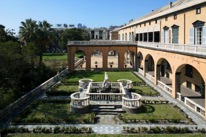 Genova Villa del Principe Giardino del Satiro