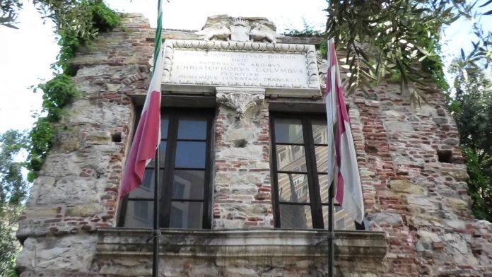 Genova Casa di Cristoforo Colombo