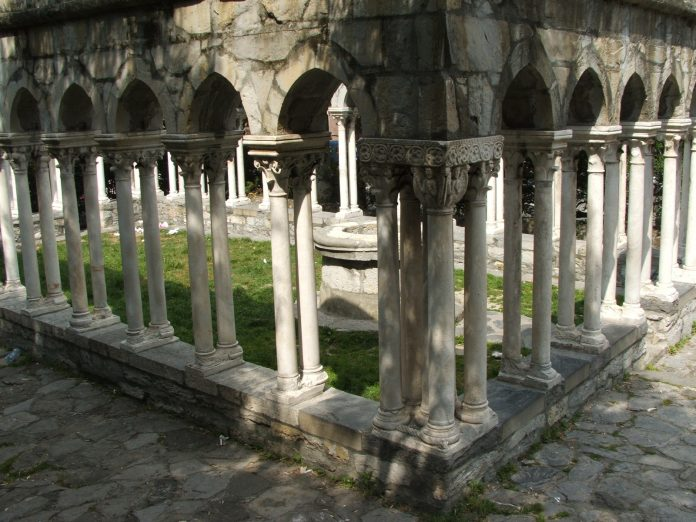 Genova Chiostro Sant'Andrea